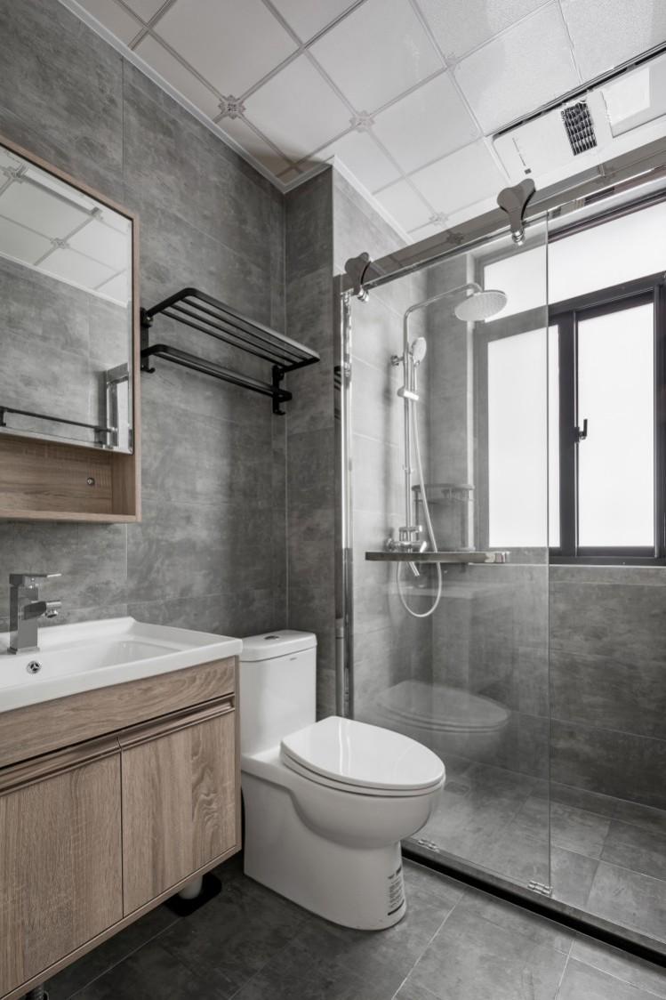 美式风格洗手间软装