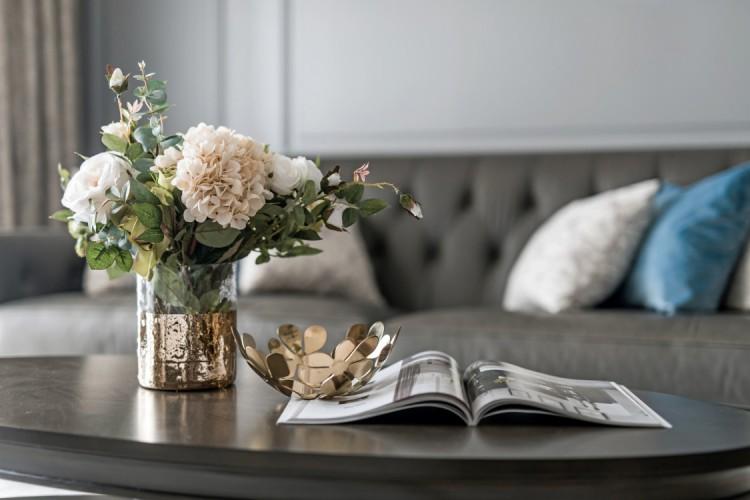 美式风格客厅软装