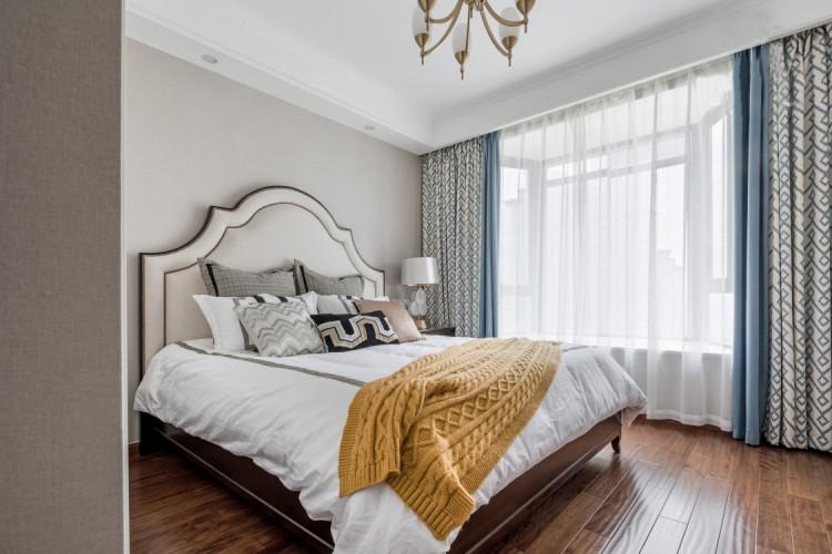 美式风格卧室软装