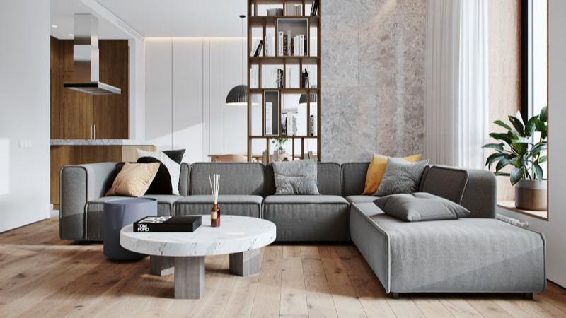 北欧风格-公寓软装案例-铭凤凰