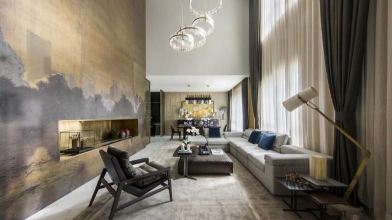 新中式风格-别墅案例二