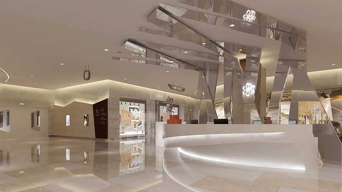 商场软装设计商业空间现代简约风格