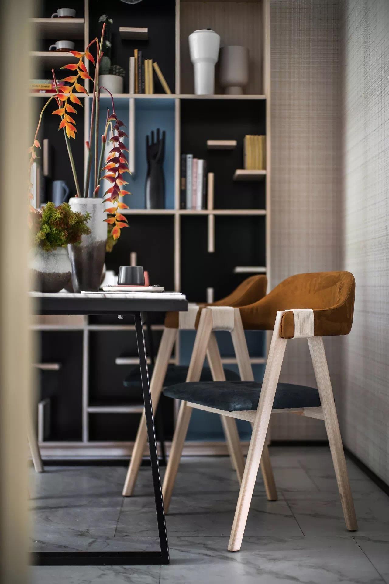 现代简约公寓软装案例