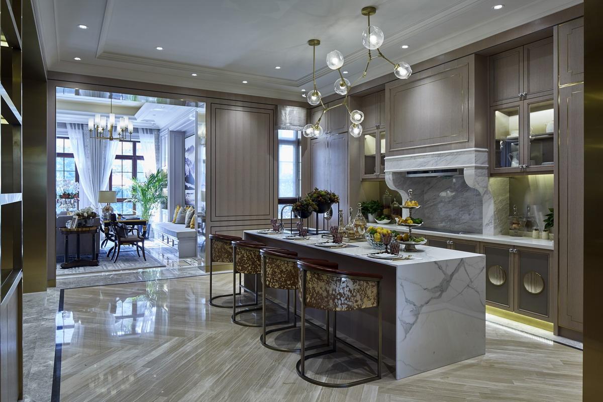美式风格别墅软装案例