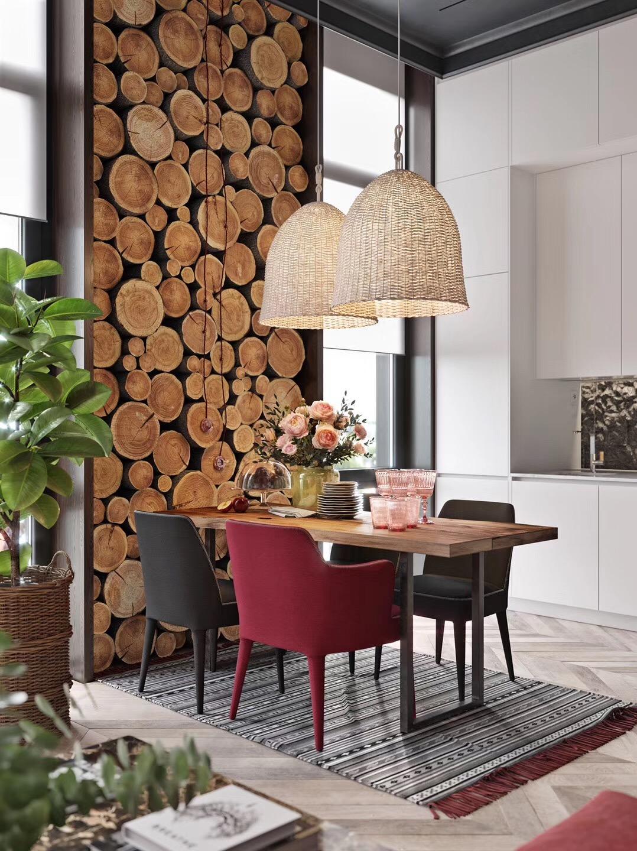现代风格公寓软装案例