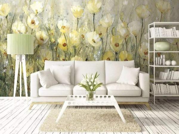 壁纸软装也可以这样,充满风情的别墅软装壁纸设计素材