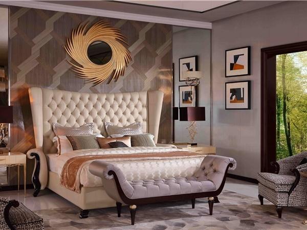 如何让私密的卧室空间的色调在软装网的搭配下更加酷炫靓丽