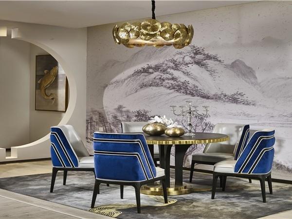 家居特色餐厅在欧式软装的布置中发挥更美更有效的实用空间