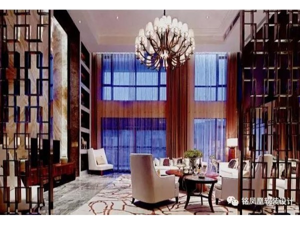 别墅样板房软装,现代又富丽,多了一丝温馨与活泼!