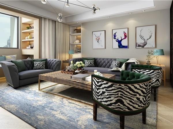 北京软装设计师分享十一种客厅墙面混搭形式,值得你收藏!