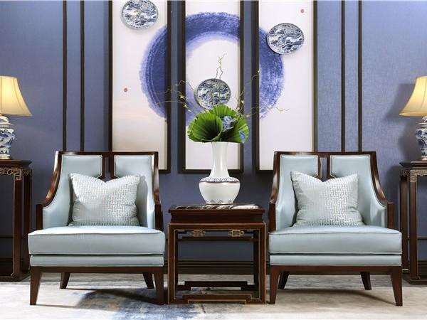 新中式软装方案结合传统元素铸造极富传统韵味的中式家居