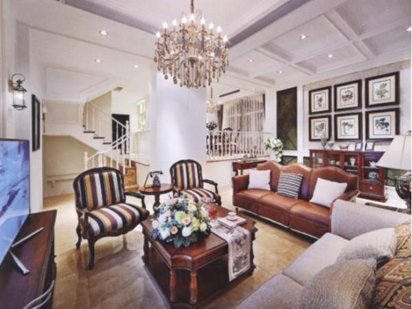 别墅软装设计公司利用古典与现代的交融出全新古典欧式造型