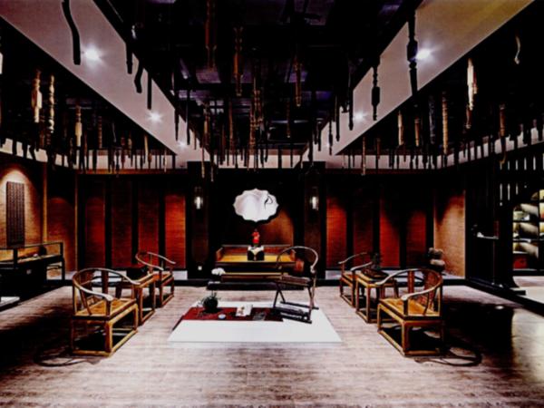 中国的传统精髓嵌入软装硬装的家具中描绘出生活的缩影