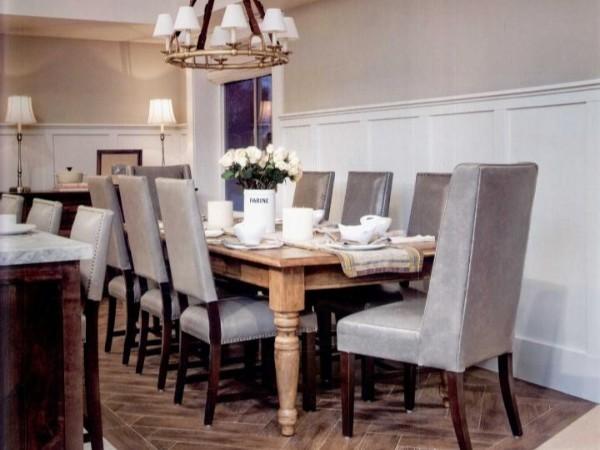 高档豪华住宅选取各种独特软装材料展现空间的自信与优雅