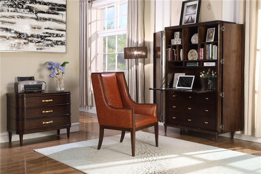 美式风格书房家具