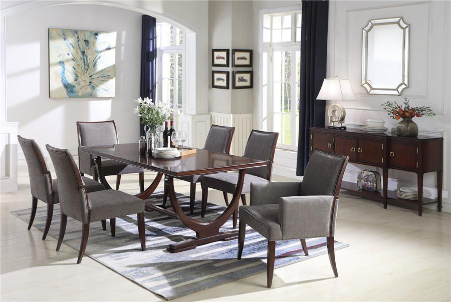 美式风格餐厅家具