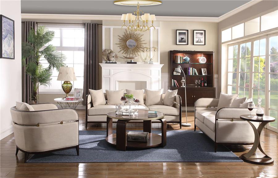 美式风格客厅家具