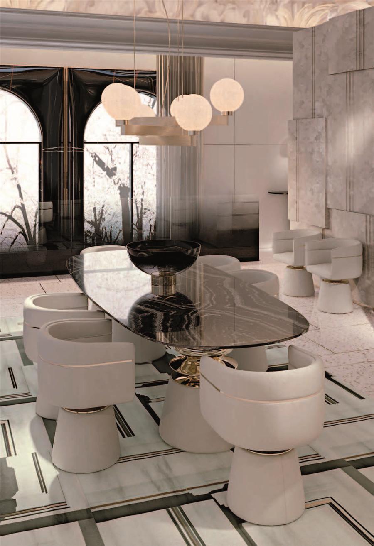 CLAN餐厅家具