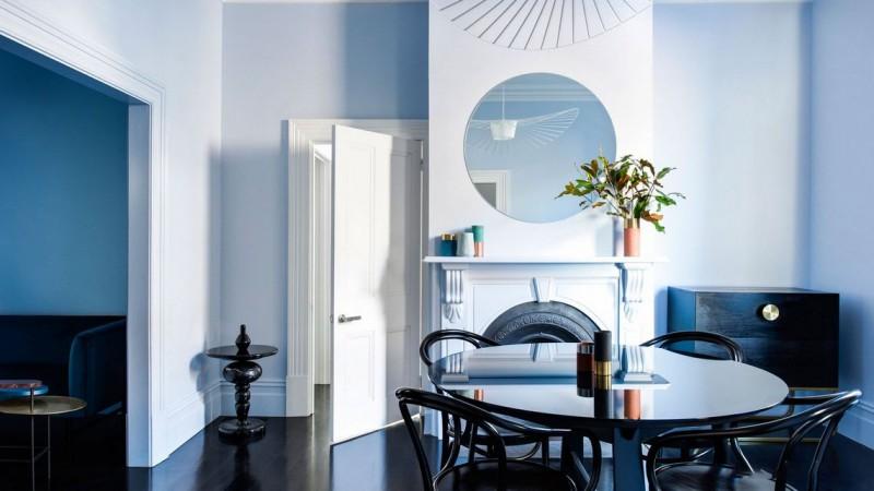 美式风格别墅软装餐厅
