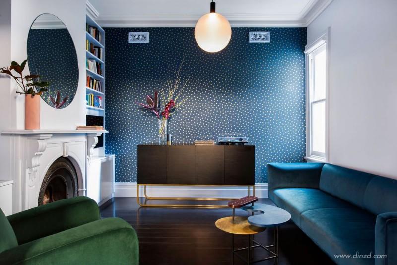 美式风格别墅软装客厅