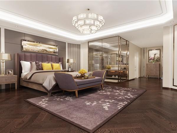 杭州软装设计运用色彩的变幻体现强烈的奢华及艺术