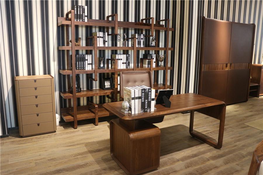 现代简约风格书房家具