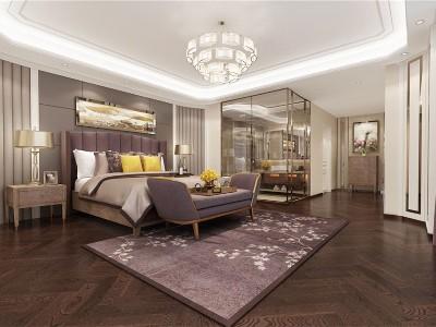 现代轻奢风格卧室家具(一)
