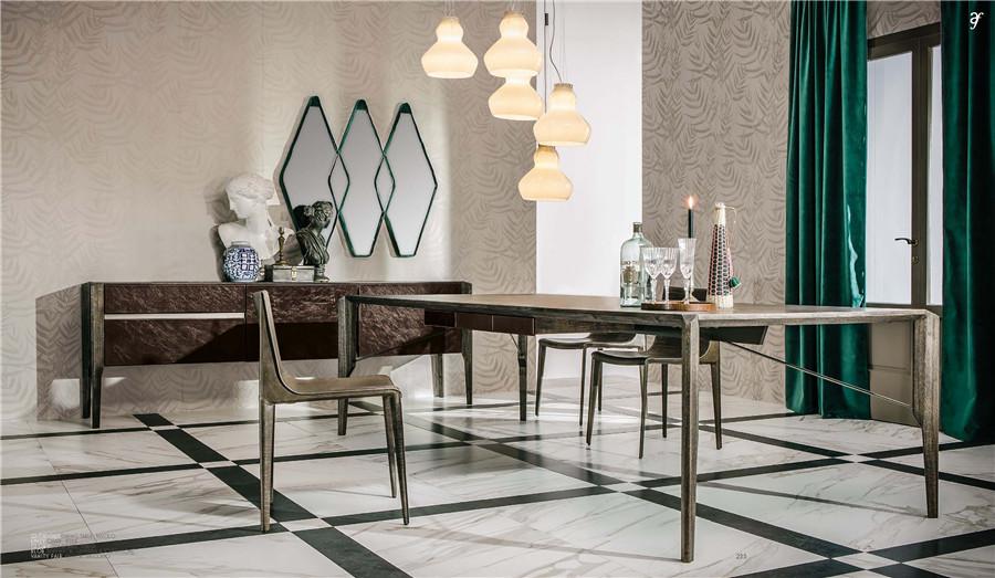 现代简约风格餐厅家具