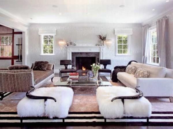 优雅从容的高端软装定制体现业主极高的居住品质