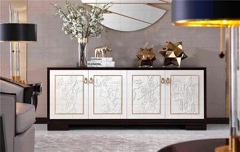 法式轻奢风格客厅家具家具