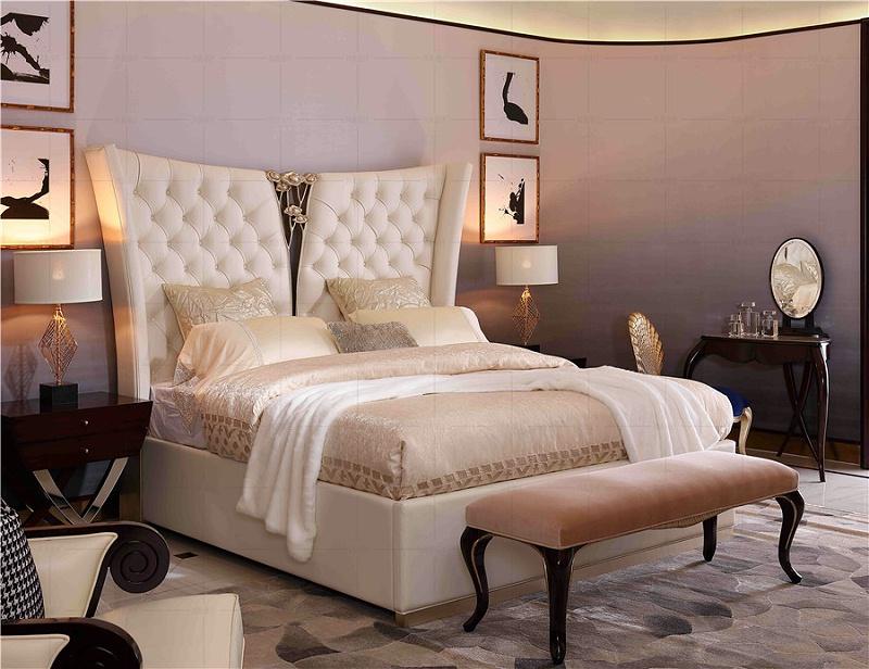 法式轻奢风格卧室家具