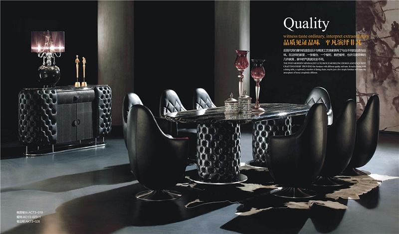 后现代风格餐厅家具