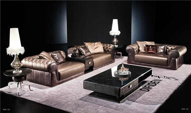 后现代风格客厅家具