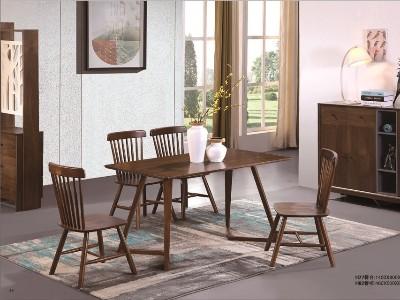 北欧风格餐厅家具