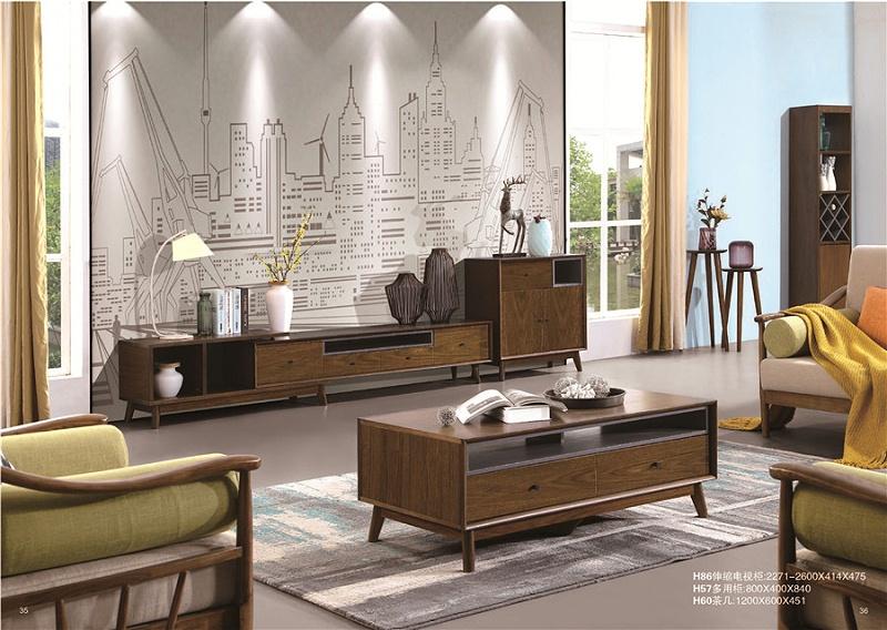 北欧风格客厅家具