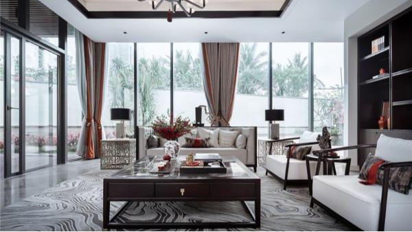 新中式-别墅软装案例六