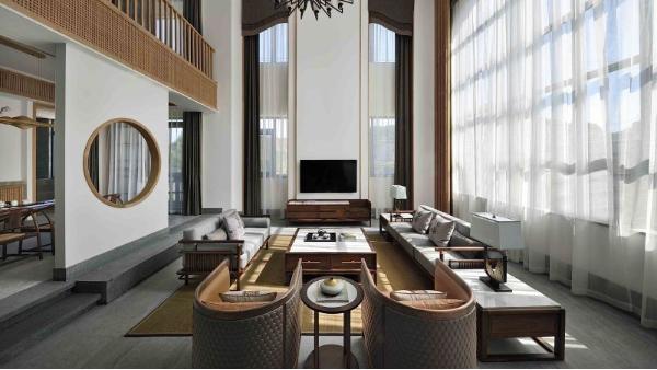 新中式-别墅软装案例七