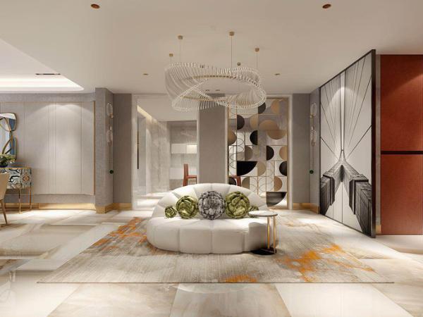 现代轻奢,精致巧妙的室内设计呈现时尚高雅范儿