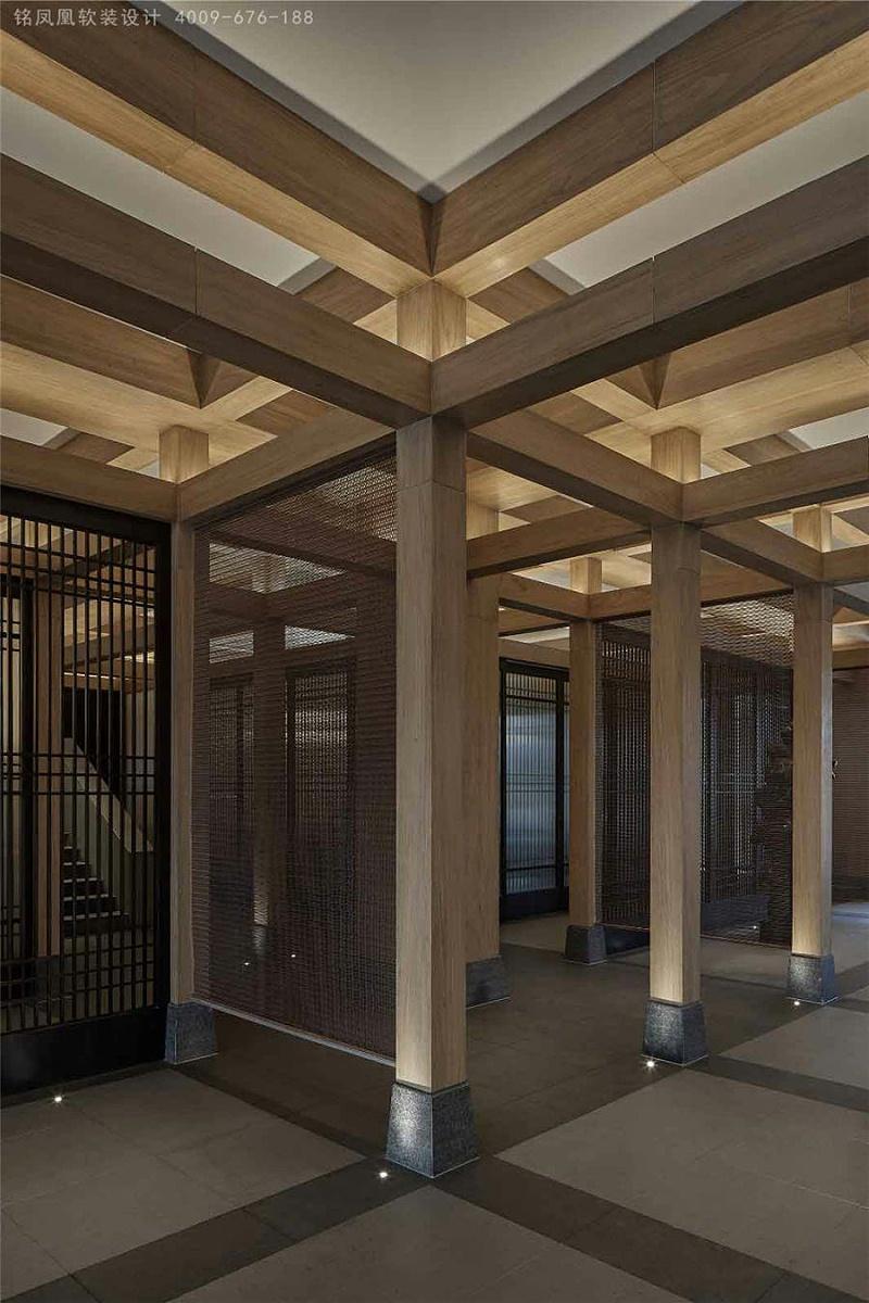 新中式风格软装会所