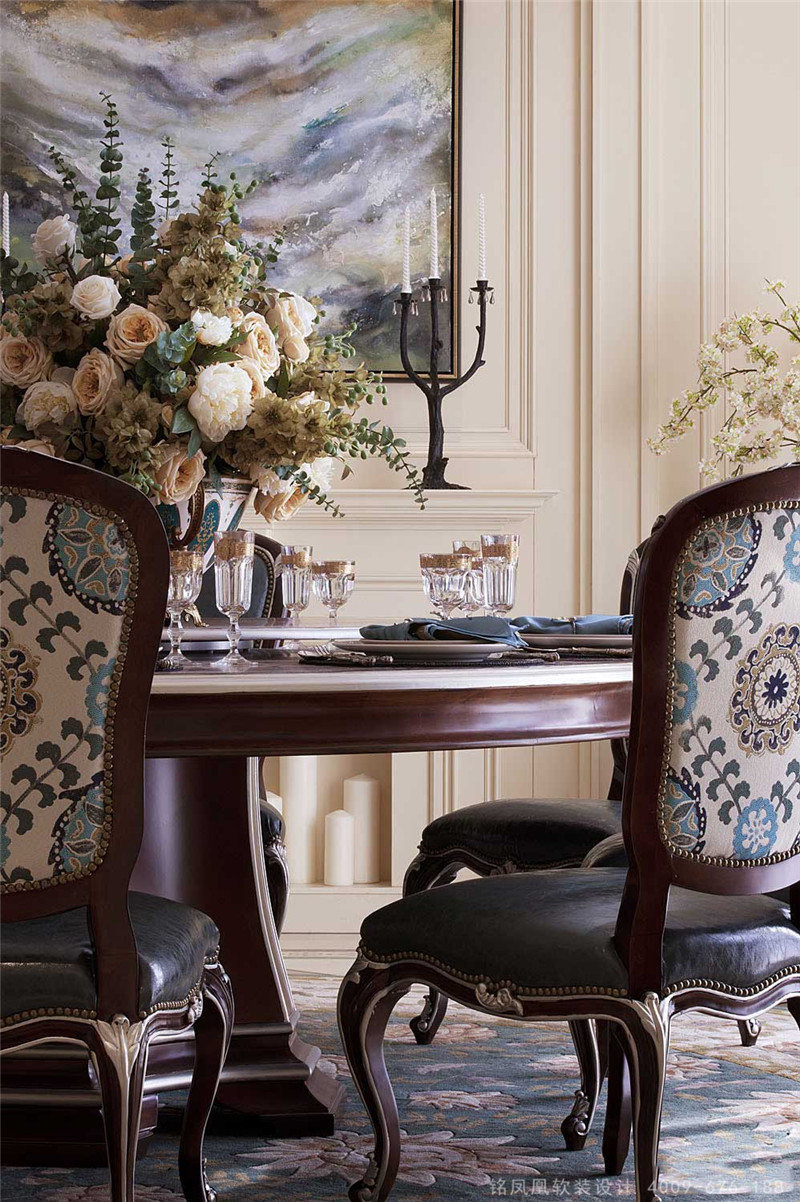 新古典风格别墅软装