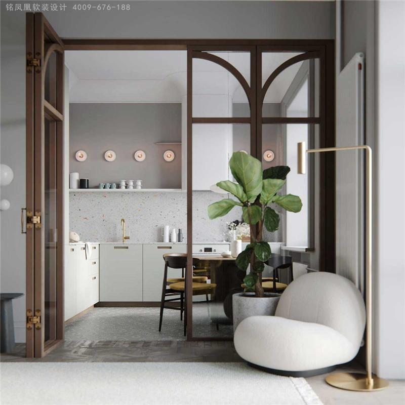 简约自然的北欧风格精装房设计