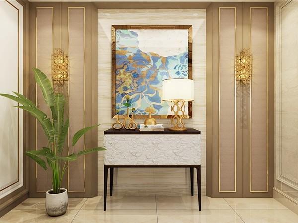 豪华与时代的装饰软装造就整屋的雍容华贵尽显大气视觉