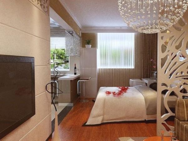 铭凤凰软装设计工作室打造浪漫美观实用的喜气新房