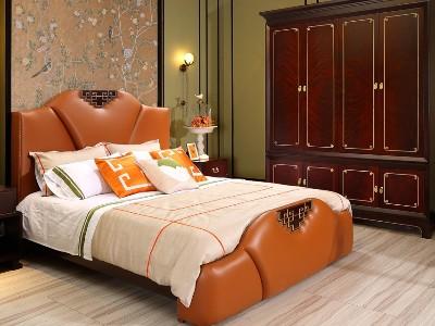 新中式风格卧室家具(三)