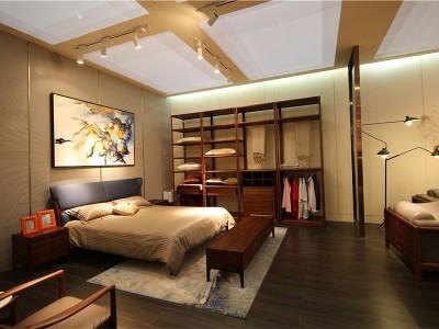 新中式风格卧室家具(四)