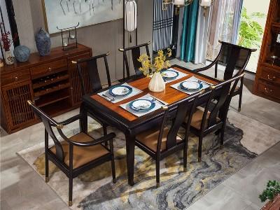 新中式风格餐厅家具(一)