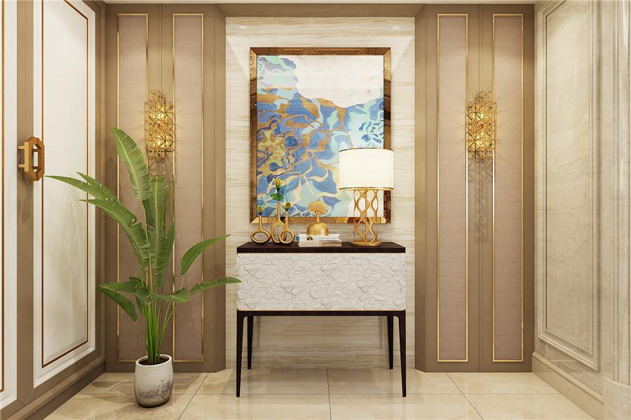 新中式风格玄关家具