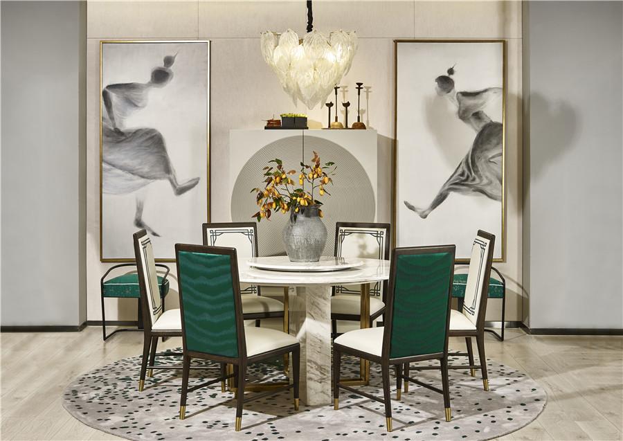 新中式风格餐厅家具
