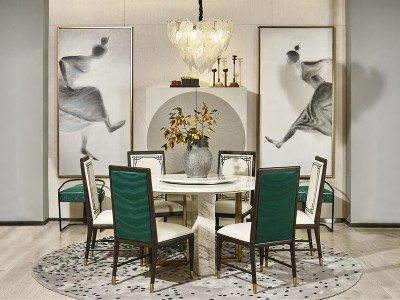 新中式风格餐厅家具(三)