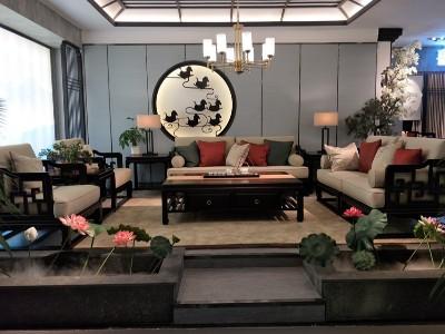 新中式风格客厅家具(三)